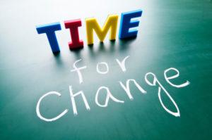 décider de changer